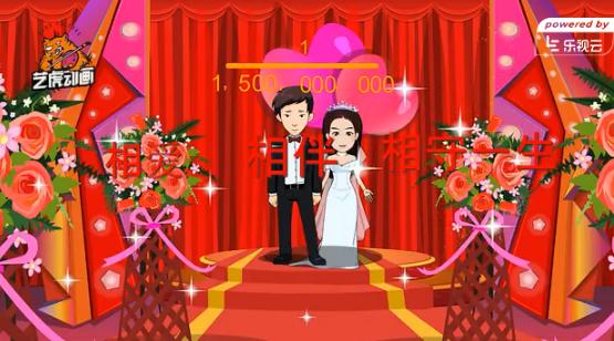 婚礼动画卡通人物设计