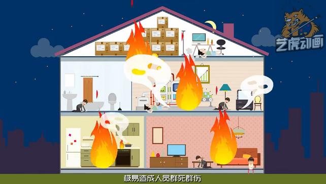 消防公益动画
