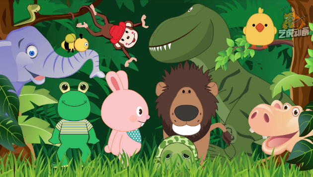 flash幼儿课件卡通故事动画