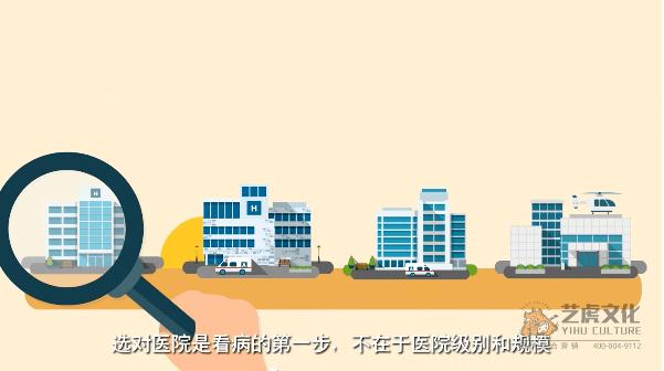 就医360医学软件app宣传动画