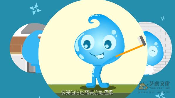 节约用水公益动画