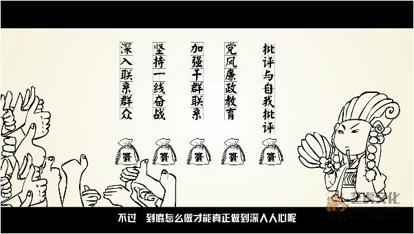 廉政宣传公益动画视频